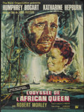 """Movie Posters:Adventure, The African Queen (United Artists, R-1965). French Grande (45"""" X61.5""""). Adventure...."""