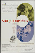 "Movie Posters:Cult Classic, Valley of the Dolls (20th Century Fox, 1967). One Sheet (27"" X 41""). Cult Classic...."