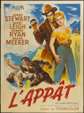 """Movie Posters:Western, The Naked Spur (MGM, 1953). French Grande (46.5"""" X 62.5""""). Western...."""