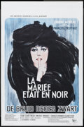 "Movie Posters:Mystery, The Bride Wore Black (United Artists, 1968). Belgian (14"" X 21.5"").Mystery...."