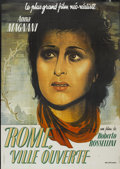 "Movie Posters:War, Open City (Minerva, R-1980s). French Grande (45.5"" X 61.5"").War...."