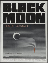 "Black Moon (Cinema International Corp., 1975). French Petite (15.5"" X 20.5""). Fantasy"