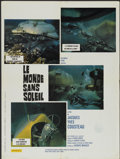 """Movie Posters:Documentary, World Without Sun (Columbia, 1964). French Petite (23.5"""" X 31.5""""). Documentary...."""