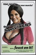 "Movie Posters:Adult, Supervixens (RM Films, 1975). One Sheet (27"" X 41""). Adult...."