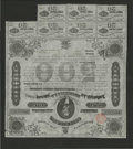 Confederate Notes:Group Lots, Ball 192 Criswell 124 $500 1863 Bond Very Fine. A German tax stampof 10 Pfennig is found on this bound....