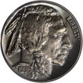 Proof Buffalo Nickels: , 1936 5C Type Two--Brilliant Finish PR67 PCGS. This piece is housedin an older green-label PCGS holder, although the label ...