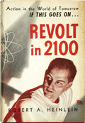 Books:Signed Editions, Robert A. Heinlein. Revolt in 2100. Chicago: ShastaPublishers, [1953]....