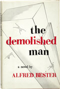 Books:First Editions, Alfred Bester. The Demolished Man. Chicago: ShastaPublishers, 1953....