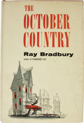 Books:First Editions, Ray Bradbury. The October Country....