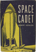 Books:First Editions, Robert Heinlein. Space Cadet. New York: Charles Scribner'sSons, 1948....