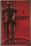 Books:First Editions, Isaac Asimov. I, Robot. New York: Gnome Press, Inc.,[1950]....