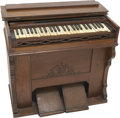 Music Memorabilia:Autographs and Signed Items, Jerry Lee Lewis Signed Mason & Hamlin Organ. A Mason and Hamlinportable organ signed across the keyboard by The Killer hims...(Total: 1 Item)