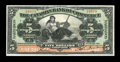 Canadian Currency: , Barbados, WI- The Canadian Bank of Commerce $5 Jan. 2, 1922 Ch. #75-20-04. ...