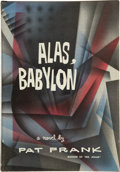 Books:First Editions, Pat Frank. Alas, Babylon. Philadelphia and New York: J. B.Lippincott Company, [1959]....