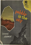 Books:First Editions, Isaac Asimov. Pebble in the Sky. Garden City, NY: Doubleday& Company, 1950....