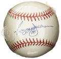 Autographs:Baseballs, Reggie Jackson Single Signed Baseball. Glorious application of Mr.October Reggie Jackson's signature appears on the sweet ...