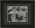 Autographs:Photos, Ted Williams and Joe DiMaggio Signed Photograph. Hard to find apair of hitters that would top this duo, Ted Williams and Jo...