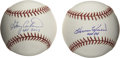 Autographs:Baseballs, Harmon Killebrew and Gary Carter Singled Signed Baseballs Lot of 2.Each entry from this sparkling pair of single signed ba...