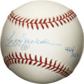 Autographs:Baseballs, Reggie Jackson Single Signed 1978 World Series Baseball. While hewas already a big name player by the time he arrived in N...