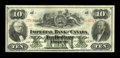 Canadian Currency: , Toronto, ON- Imperial Bank of Canada $10 Jan. 2, 1920 Ch. #375-16-12. ...