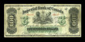 Canadian Currency: , Toronto, ON- Imperial Bank of Canada $100 Jan. 2, 1917 Ch. #375-16-24. ...