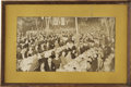 """Movie/TV Memorabilia:Photos, Harry S. Truman Vintage Presidential Tribute Photo From Beverly Hills CENSORED Club. A vintage b&w 10.5"""" x 20"""" photo of a pr... (Total: 1 Item)"""