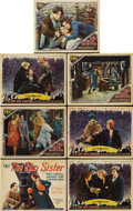 "Movie Posters:Drama, The Sin Sister (Fox, 1929). Title Card and Lobby Cards (6) (11"" X14"").... (Total: 7 Items)"