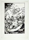 Original Comic Art:Splash Pages, Trent Kaniuga - Creed #1 Splash page 15 Original Art (Hall ofHeroes, 1995)....