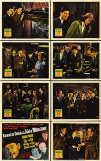 """Charlie Chan at the Wax Museum (20th Century Fox, 1940). Lobby Card Set of 8 (11"""" X 14"""").... (Total: 8 Items)"""