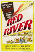 "Movie Posters:Western, Red River (United Artists, 1948). One Sheet (27"" X 41"")...."