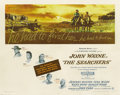 "Movie Posters:Western, The Searchers (Warner Brothers, 1956). Half Sheet (22"" X 28"")...."