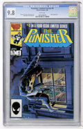 Modern Age (1980-Present):Superhero, Punisher (Limited Series) #4 (Marvel, 1986) CGC NM/MT 9.8 Whitepages....