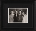 "Movie/TV Memorabilia:Photos, Elvis, Tom Jones, Merv Griffin, and Norm Crosby Photo From BeverlyHills CENSORED Club. A b&w 8"" x 10"" photo of Elvis Presle...(Total: 1 Item)"