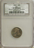 Bust Dimes, 1809 10C --Mount Removed, Repaired--NCS. VF Details. JR-1. NGC Census: (1/28). PCGS Population (4/31). Mintage: 51,065. Num...