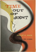 Books:First Editions, Philip K. Dick. Time Out of Joint. New York andPhiladelphia: J.B. Lippincott, [1959]....