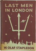 Books:First Editions, W. Olaf Stapledon. Last Men in London. London: Methuen &Co. Ltd., [1932]....