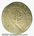 1652 Pine Tree Shilling Fine 15 Planchet Flaw. Small Planchet. Breen-52, Noe-18, Crosby 23-L. 4.25 grams. The devices ar...