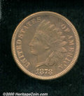 Proof Indian Cents: , 1878 1C, BN