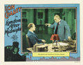 "Movie Posters:Horror, London After Midnight (MGM, 1927). Lobby Card (11"" X 14"")...."