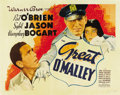 "Movie Posters:Crime, The Great O'Malley (Warner Brothers, 1937). Half Sheet (22"" X28"")...."
