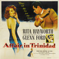 "Movie Posters:Film Noir, Affair in Trinidad (Columbia, 1952). Six Sheet (81"" X 81"")...."