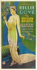 "Movie Posters:Drama, The Stolen Bride (First National, 1927). Three Sheet (41"" X81"")...."