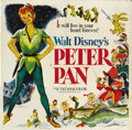 "Movie Posters:Animated, Peter Pan (RKO, 1953). Six Sheet (81"" X 81"")...."