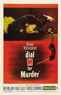 "Movie Posters:Hitchcock, Dial M for Murder (Warner Brothers, 1954). One Sheet (27"" X41"")...."