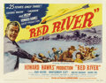 "Movie Posters:Western, Red River (United Artists, 1948). Title Card and Lobby Cards (4)(11"" X 14"").... (Total: 5 Items)"