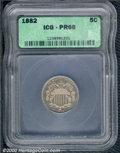 Additional Certified Coins: , 1882 5C