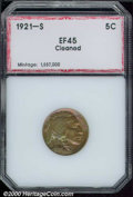 Additional Certified Coins: , 1921-S 5C