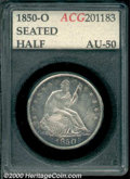Additional Certified Coins: , 1850-O 50C
