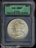 Additional Certified Coins: , 1897 S$1