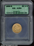Additional Certified Coins: , 1866-S $2 1/2